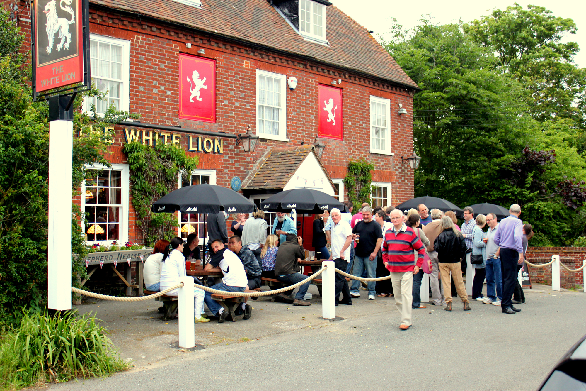 White Lion, Selling, Faversham